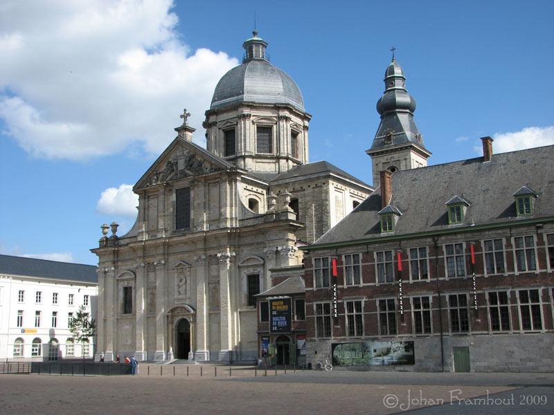 Gent Sint Pietersabdij Met de Sint-pietersabdij