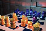 to 3D graphics, Luminous Chessmen by Johan Framhout