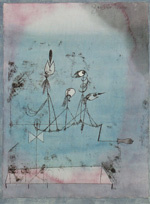 to Paul Klee, Twittering Machine, 1922