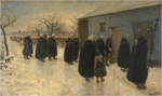 to Theodoor Verstraete (Belgian), To the vigil 1889–1890