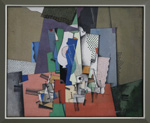 Georges Valmer (France), Geometric still life, 1920