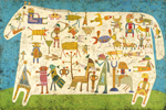 Victor Brauner, Prelude To A Civilization (1954)