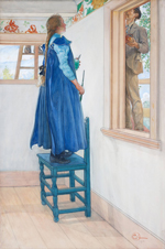 Carl Larsson, Suzanne and another, 1901