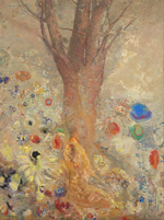 Odilon Redon (1840 - 1916), The Buddha, 1904