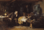 Luke Fildes, 1890, The Doctor, 1890