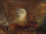 J. M. William Turner, Interior at Patworth, ca 1837