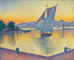 Paul Signac, Le port au soleil couchant