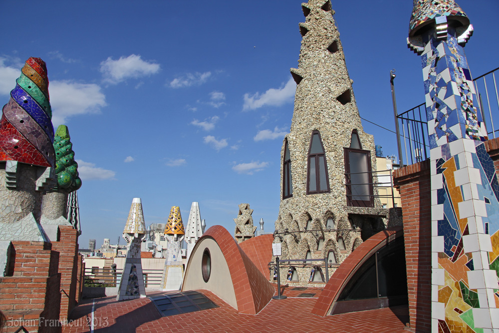Photos of Barcelona 2013 - page 3 Casa Battlo, Parc Guell ...