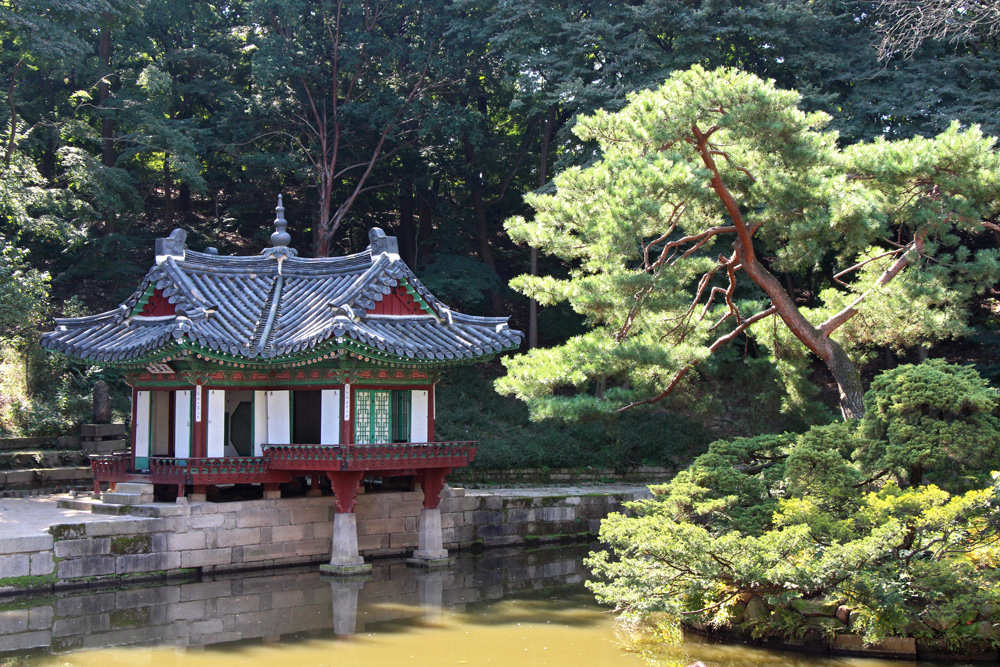 Secret garden in Changdeok Palace