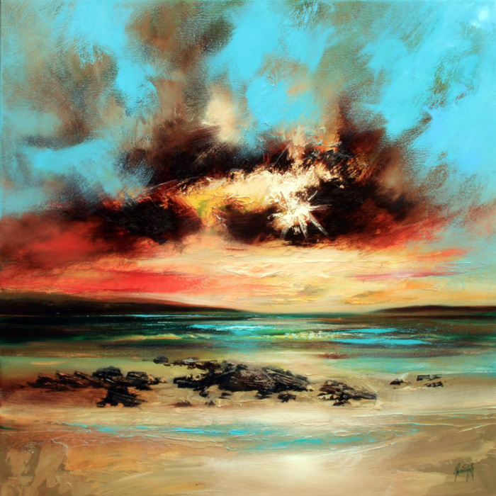 Scott Naismith, Shore (oil)