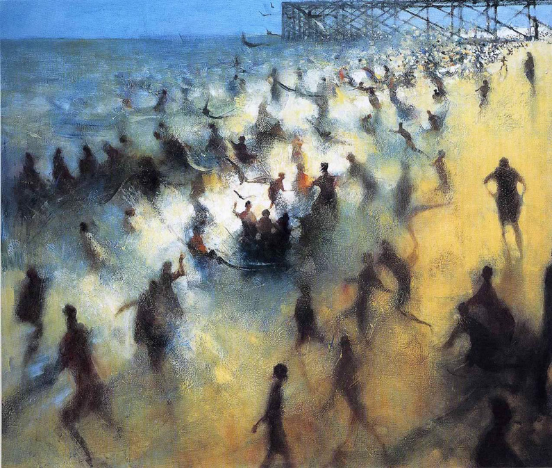 Bill Jacklin, Seashore Bathers