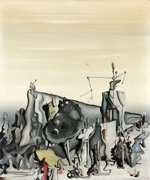to Yves Tanguy, Untitled