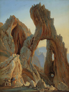 to Thomas Fearnley, Arco Naturale, Capri, 1833, Noorwegen