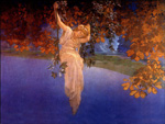 to Maxfield Parrish, Reveries, 1913