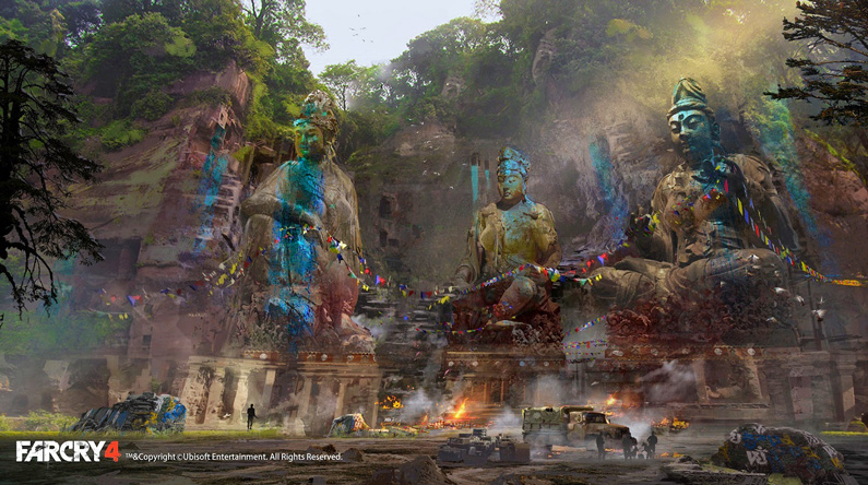 Donglu Yu, Concept for Farcry4