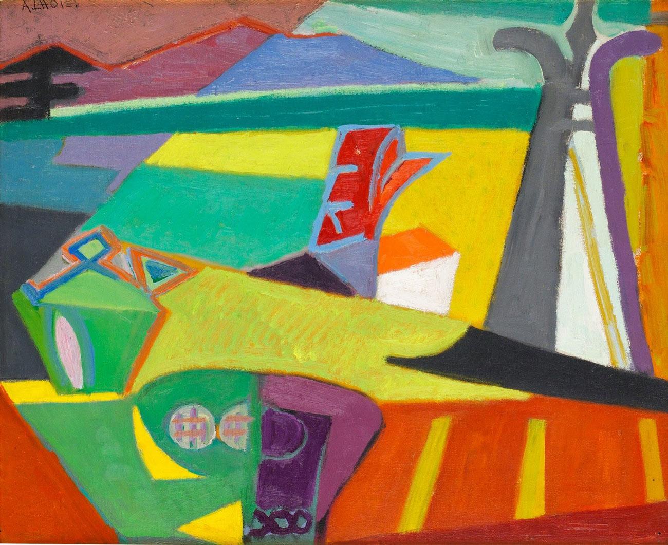 Over stromingen geschiedenis van de moderne schilderkunst for Moderne schilderkunst